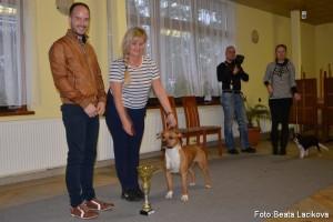 Dana Nováková bola handlerkou, ktorá urobila v priebehu dňa najväčší pokrok